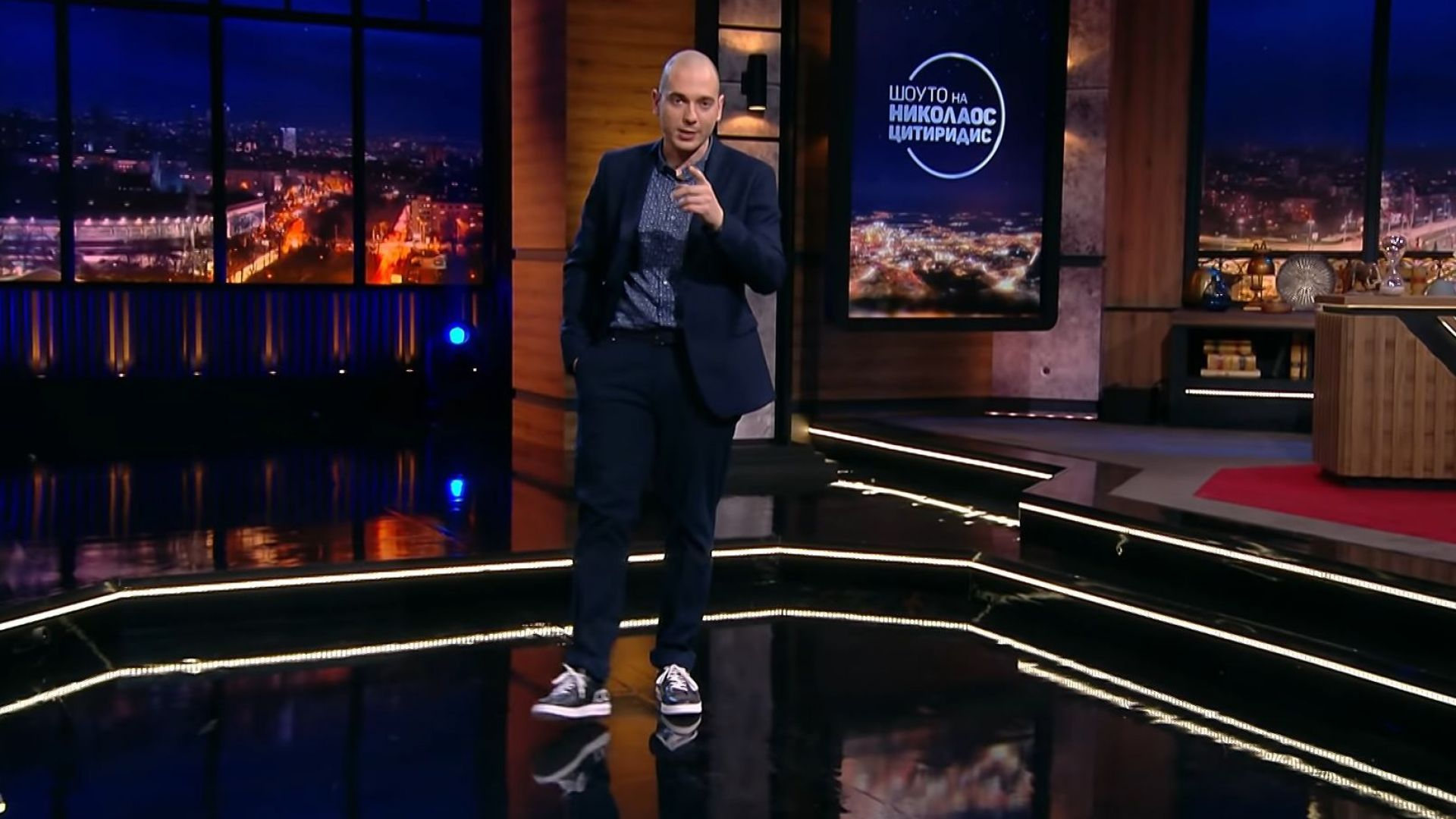 """""""Шоуто на Цитиридис"""" става 30 минути заради къснaта емисия на bTV"""