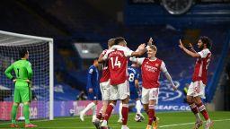 Фрапираща грешка на Челси подари на Арсенал надежда за Европа