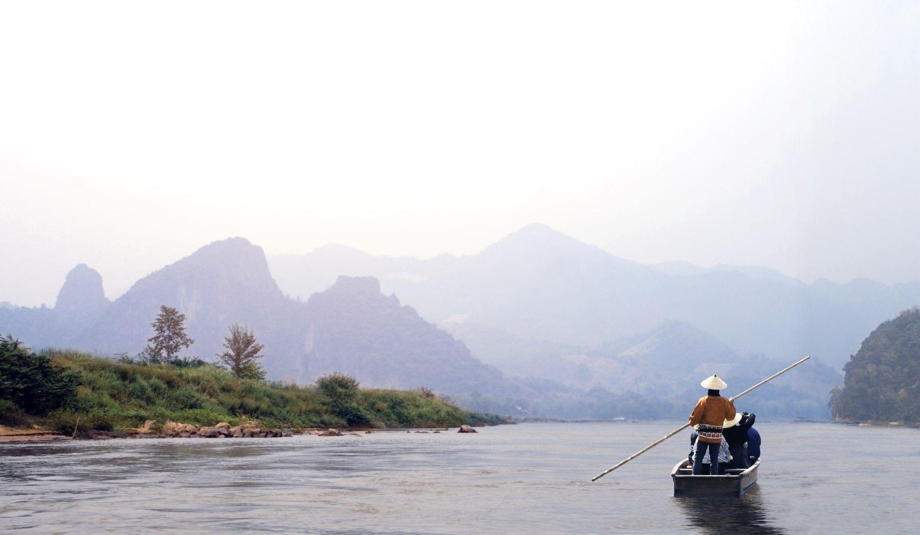 Поречието на река Меконг