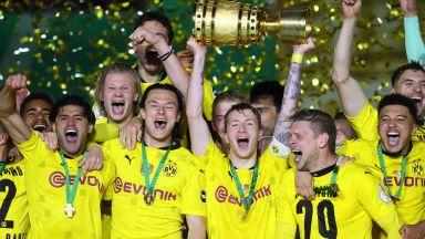 Младите суперзвезди на Дортмунд прегърнаха Купата на Германия