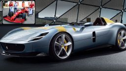 """Роналдо отиде в дома на """"Ферари"""" и си тръгна с кола за € 1.6 милиона"""