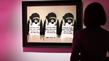 Картина на Банкси бе продадена за 2 милиона долара