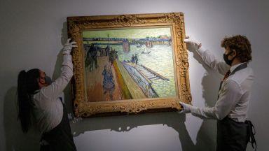 Платна на Ван Гог и Моне бяха продадени, съответно за 39 и 48,4 милиона долара