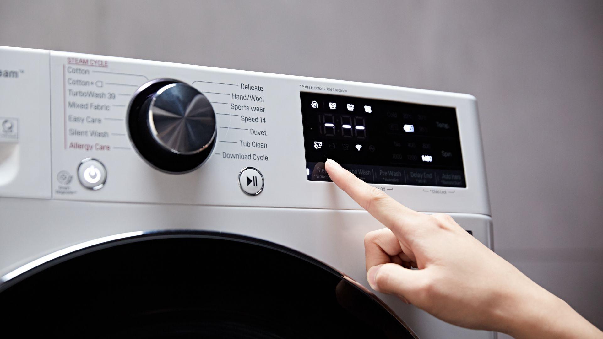 Пералните машини LG TurboWash са всичко, от което се нуждае вашият дом