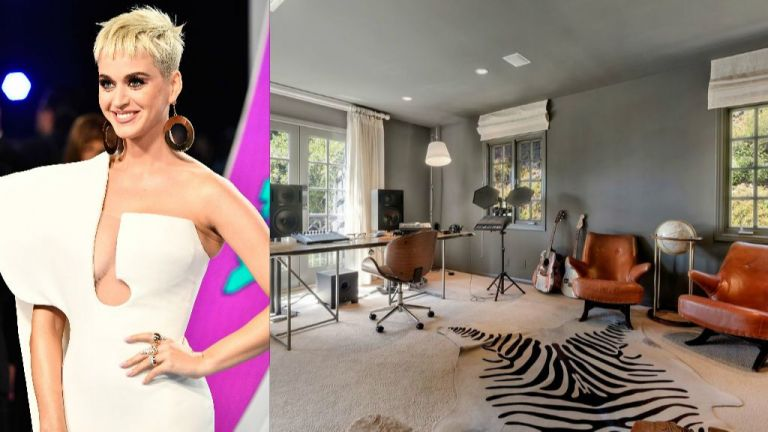 Вижте семплата, но очарователна къща в Бевърли Хилс, която Кейти Пери продава за $7.5 млн.