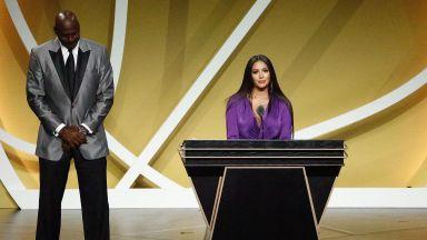 Приеха Коби в Залата на славата, съпругата му заяви: Няма да има друг като него
