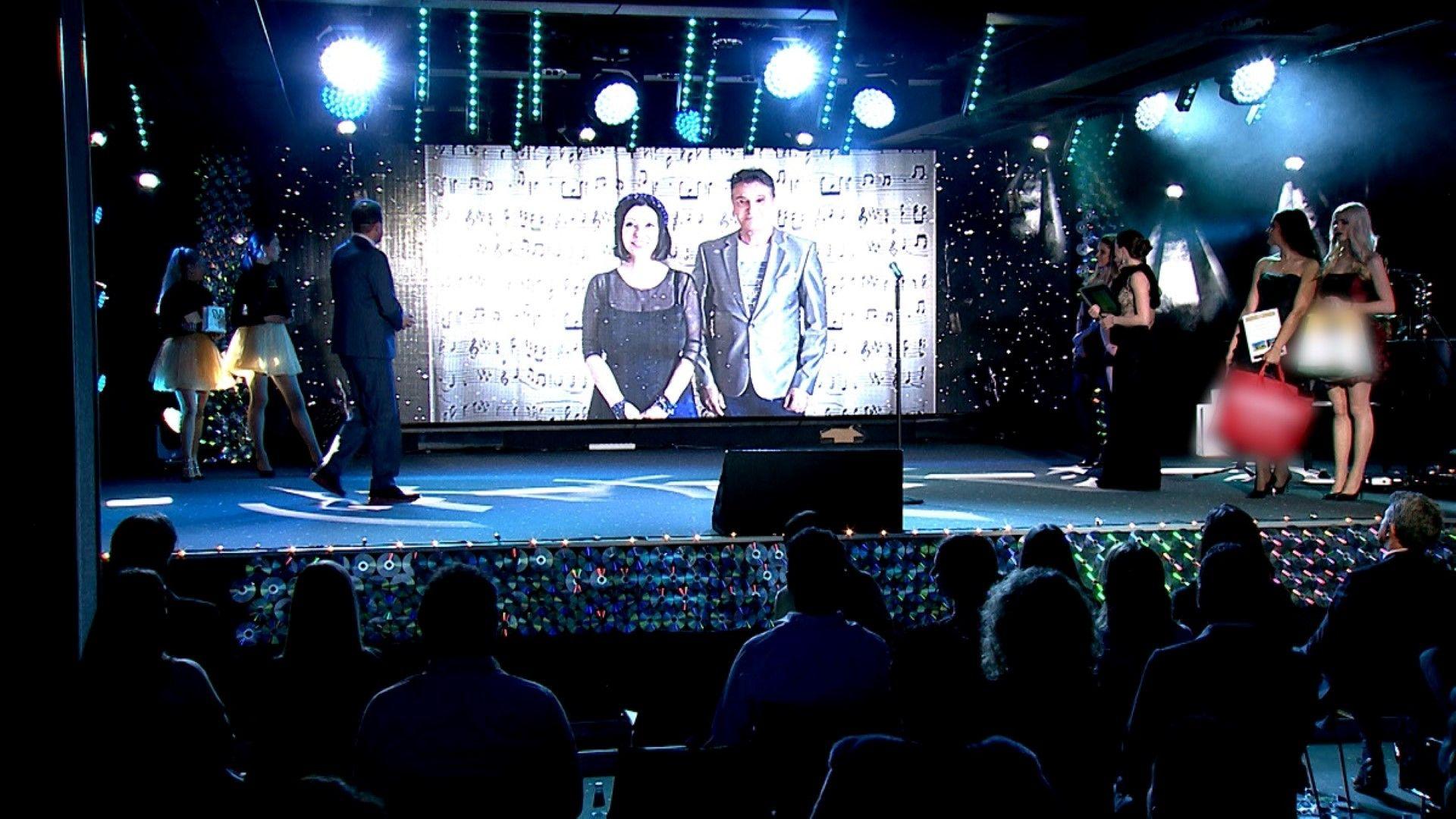 Катя и Здравко от Дует Ритон бяха една от големите виртуалните изненади на вечерта