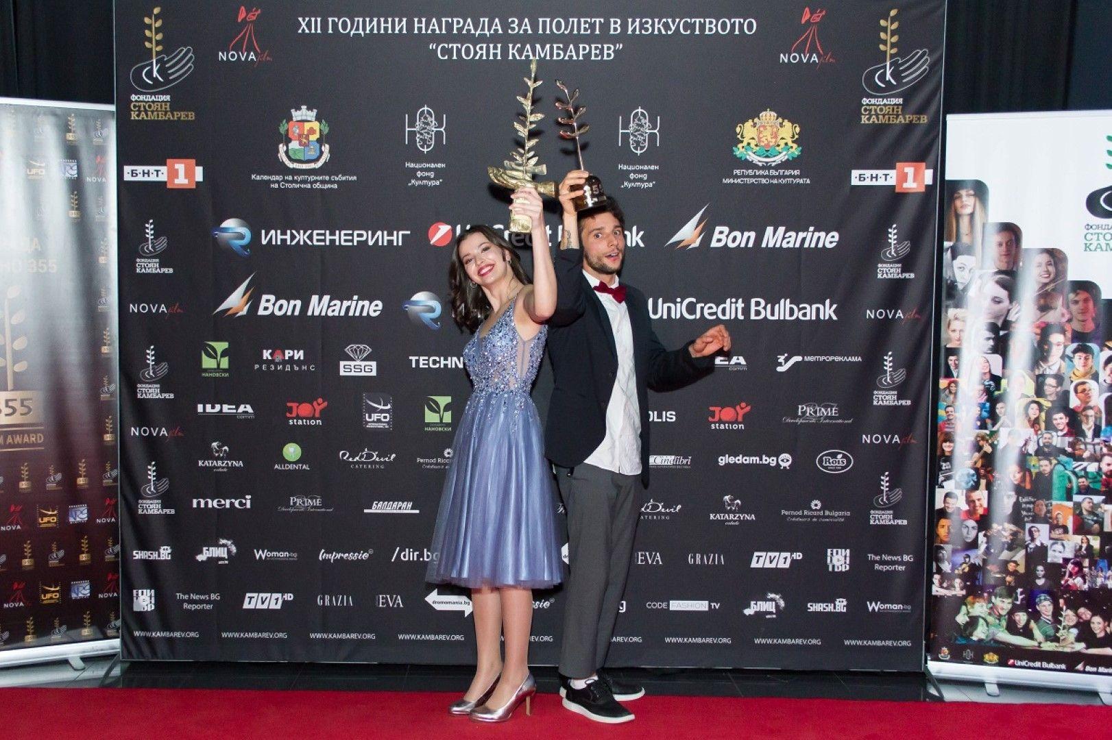 Големите победитела тази година - Лора Маркова и Виктор Иванов