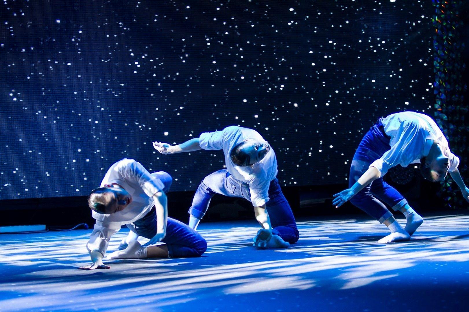 """Танцовата миниатюра """"Полет"""" на Яница Атанасова"""