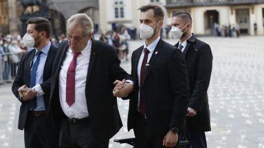 Милош Земан смъмри Русия, обявила Чехия за неприятелска страна