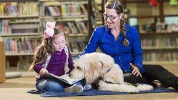 Кучетата помагат на ученици да се справят със стреса