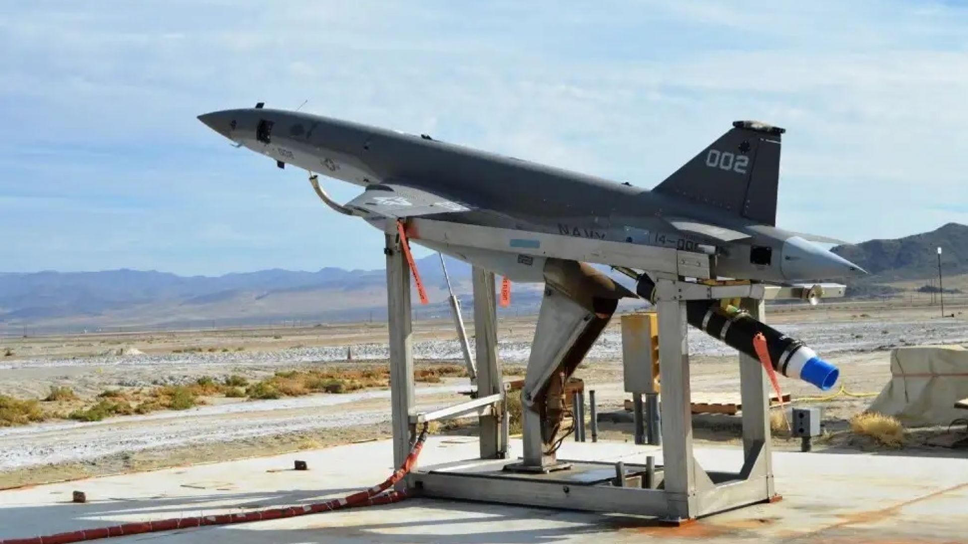"""""""Мозък"""" за боен дрон Skyborg лети за първи път"""