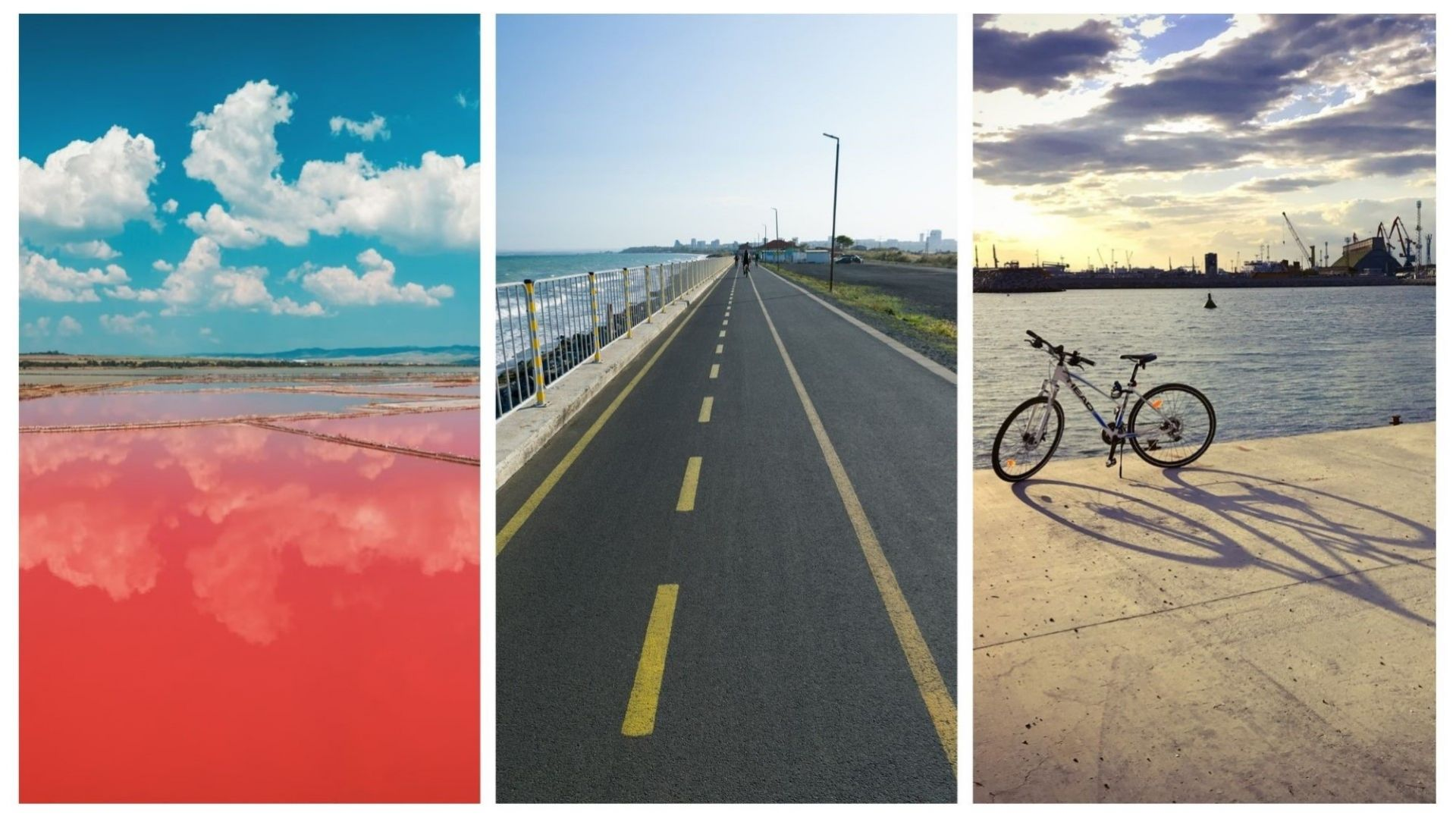 Около Бургас с колело: до Атанасовското езеро, Солниците и Сарафово