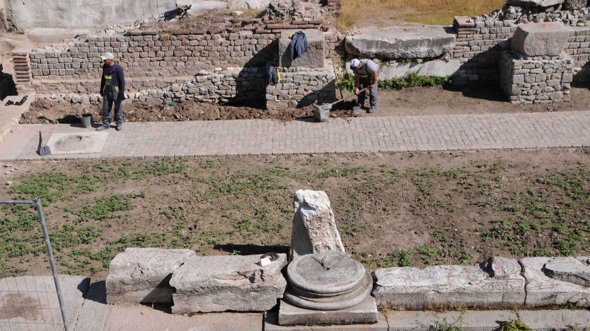 Античния одеон в центъра на Пловдив е един от най-значимите археологически обекти в града