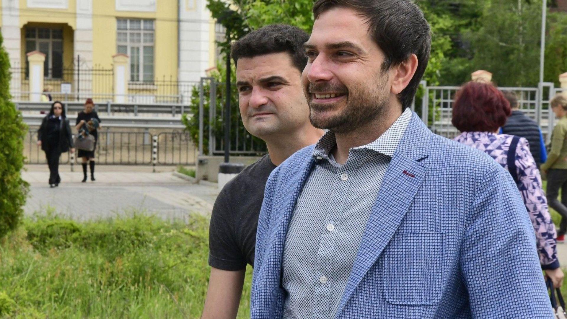 Димитър Кенаров и Николай Варадинов