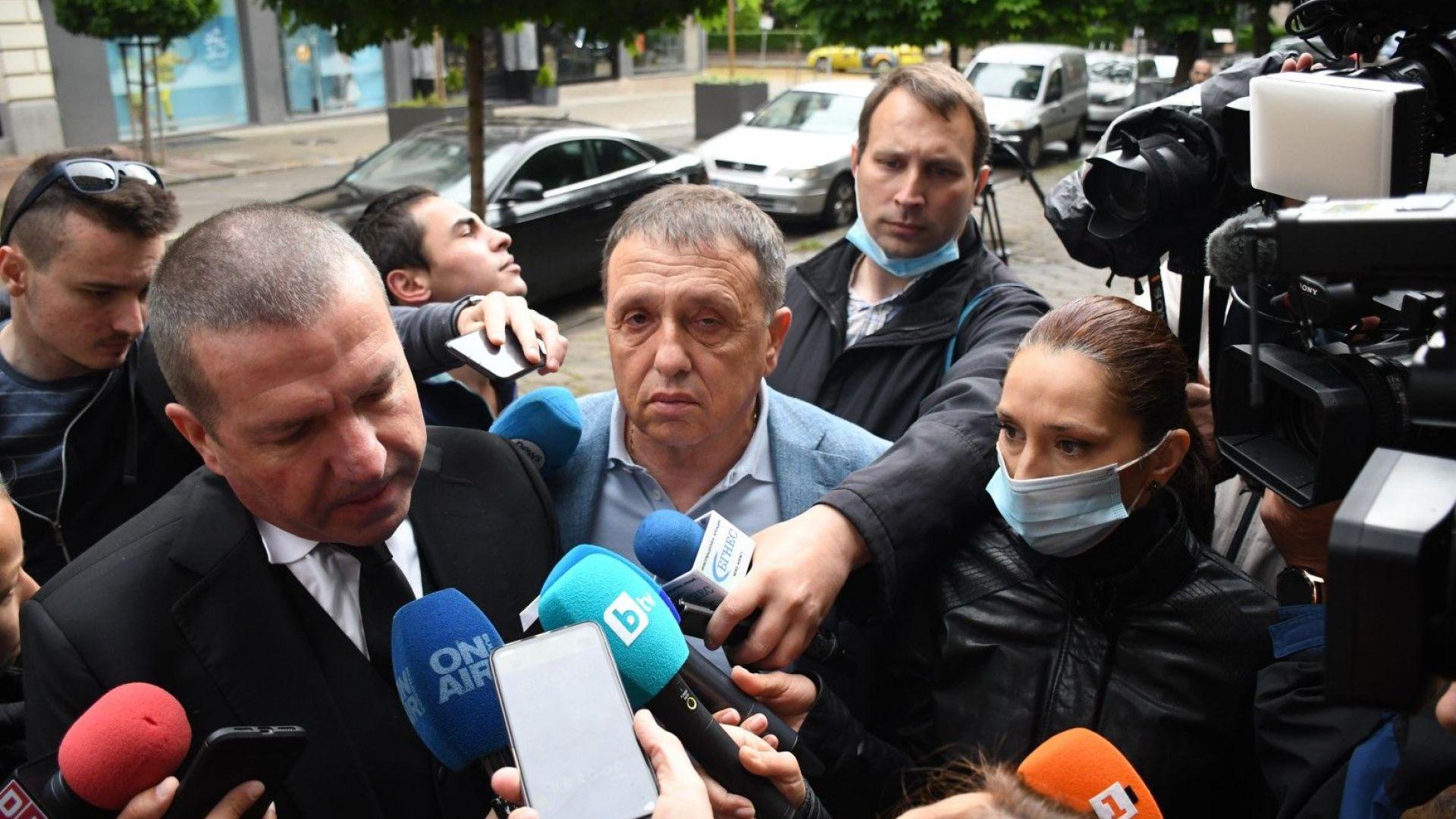Адвокат Менко Менков и бизнесмена Иван Ангелов