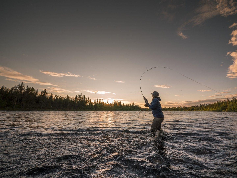 За риба в Лапландия