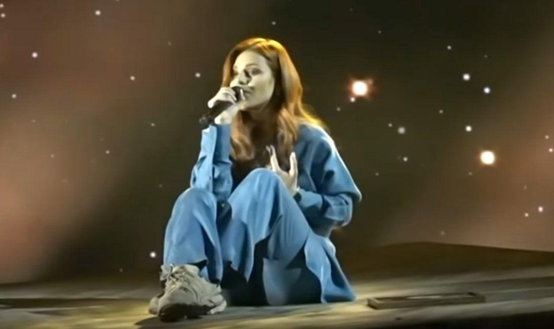 Виктория на сцената на Евровизия - генерална репетицияизпълнява