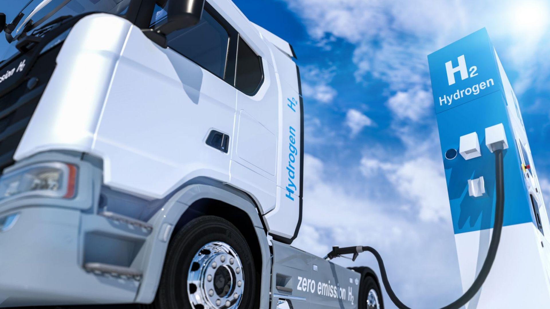 Водородните и зарядни станции ще диктуват бъдещето на товарния транспорт