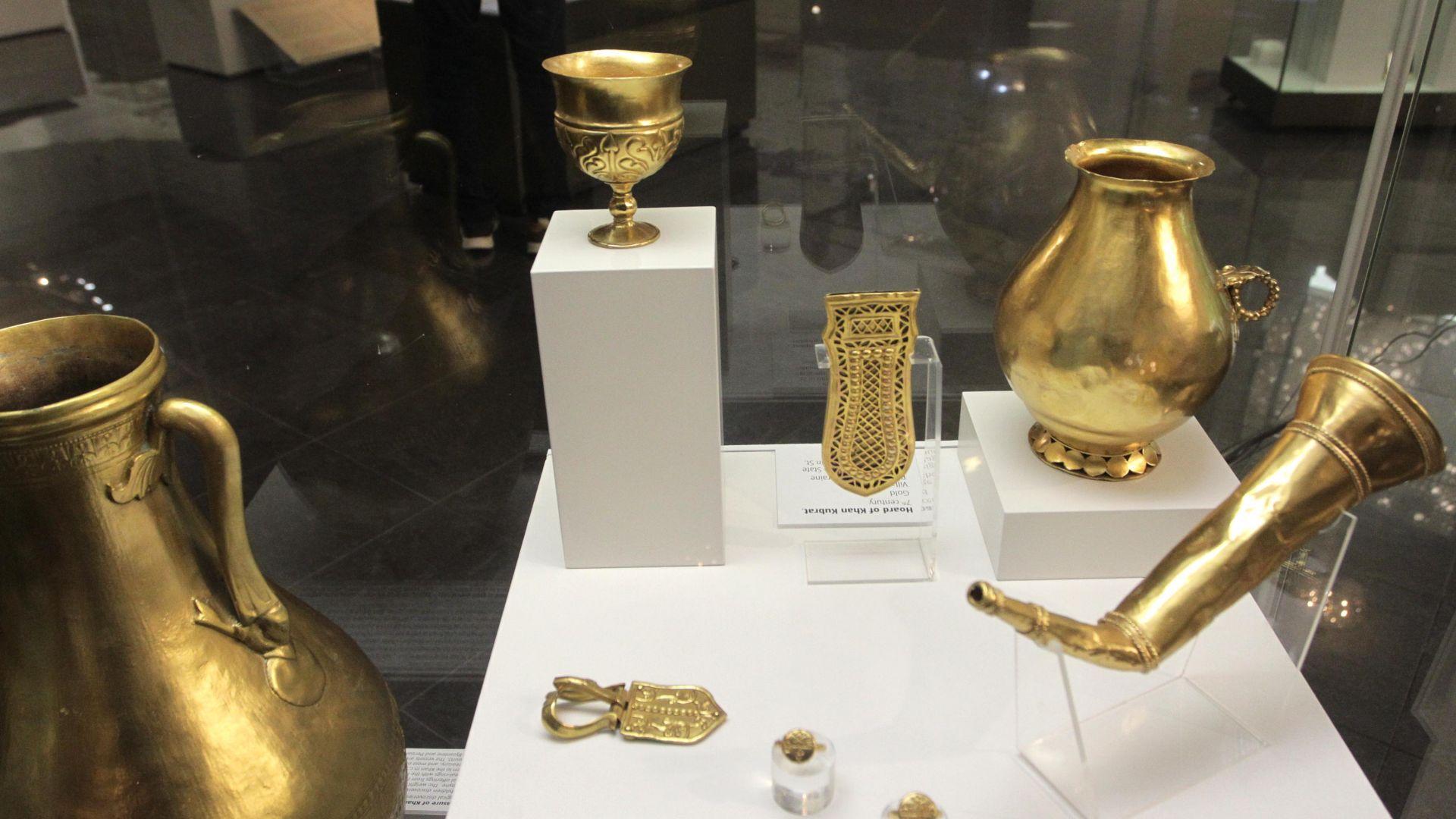 В НИМ откриха реновираната Слънчева зала, показват съкровища от Средновековието (снимки)