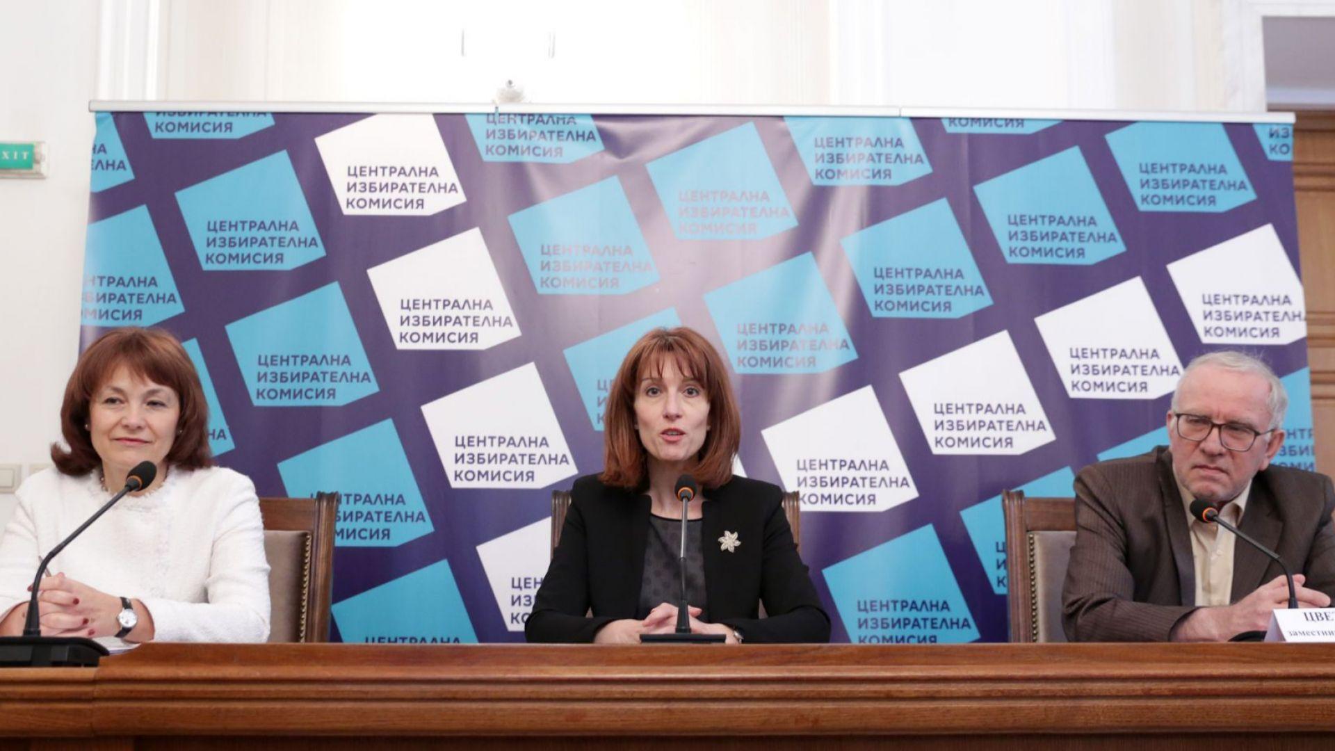 Шефката на ЦИК: Ще купим поне още 1000 машини за изборите на 11 юли