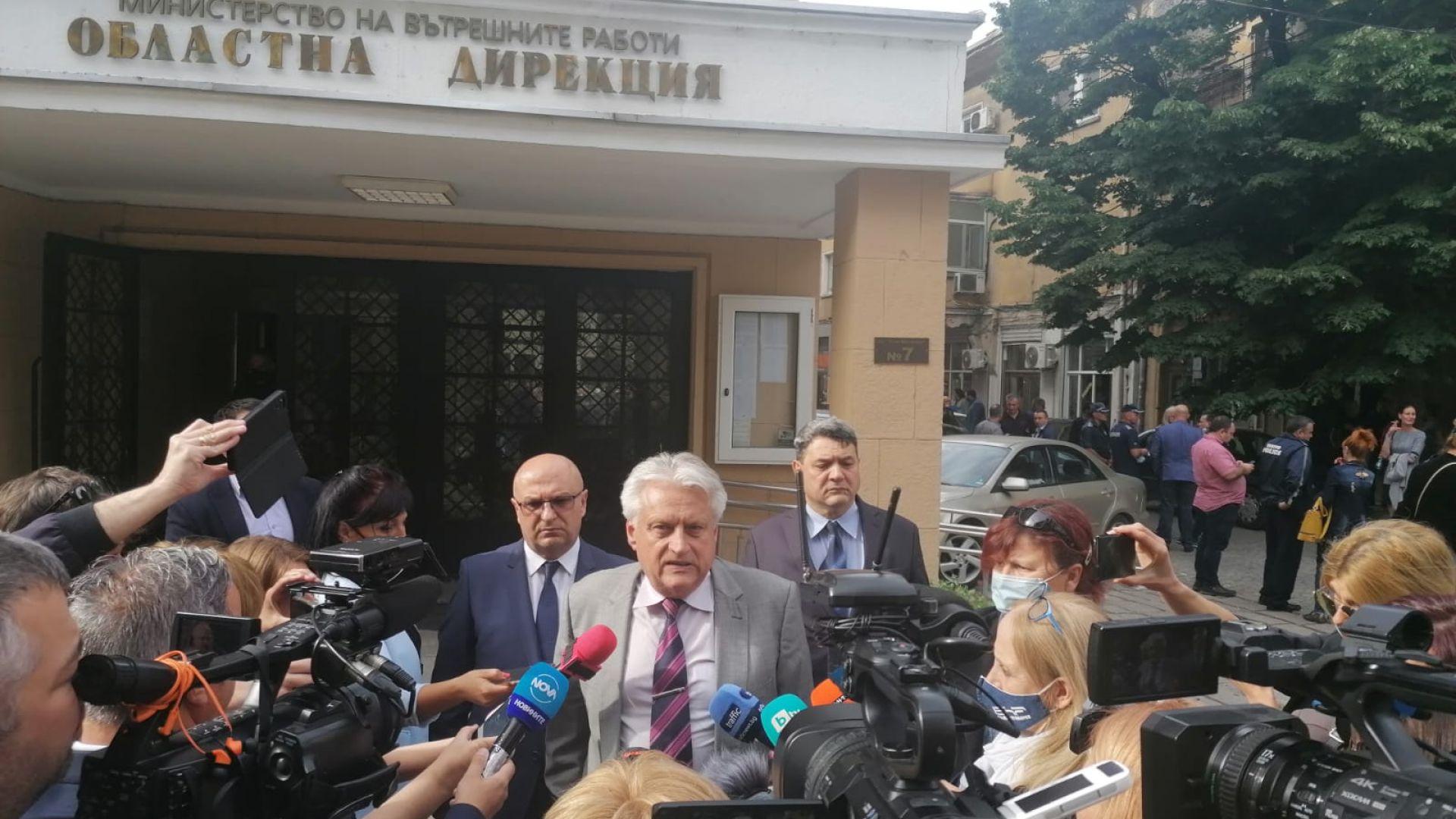 Рашков направи кадрови промени в полицията в Пловдив: Арестът на 7 служители е удар по МВР