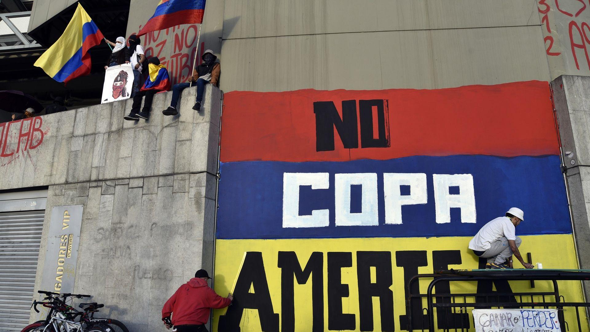 Отнеха Копа Америка от Колумбия заради масовите протести