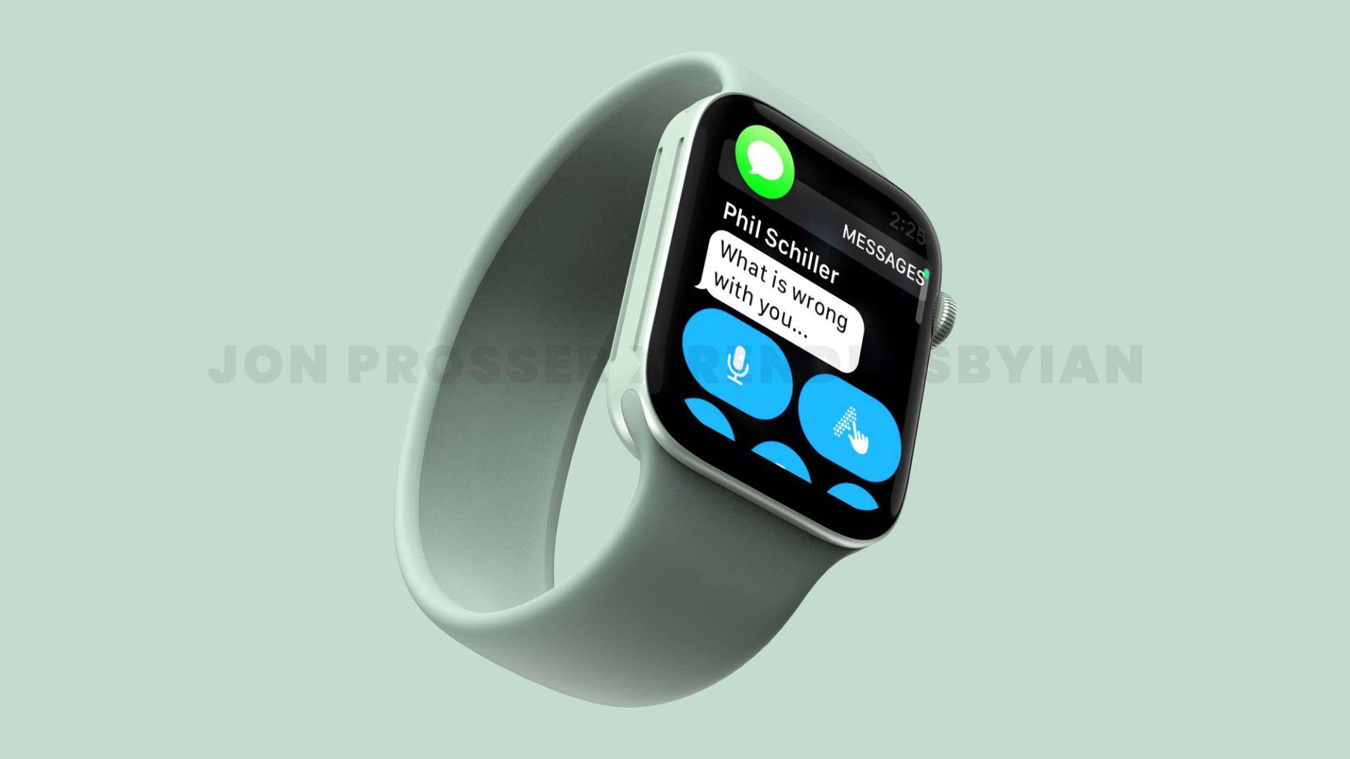 Ето как може да изглежда Apple Watch Series 7