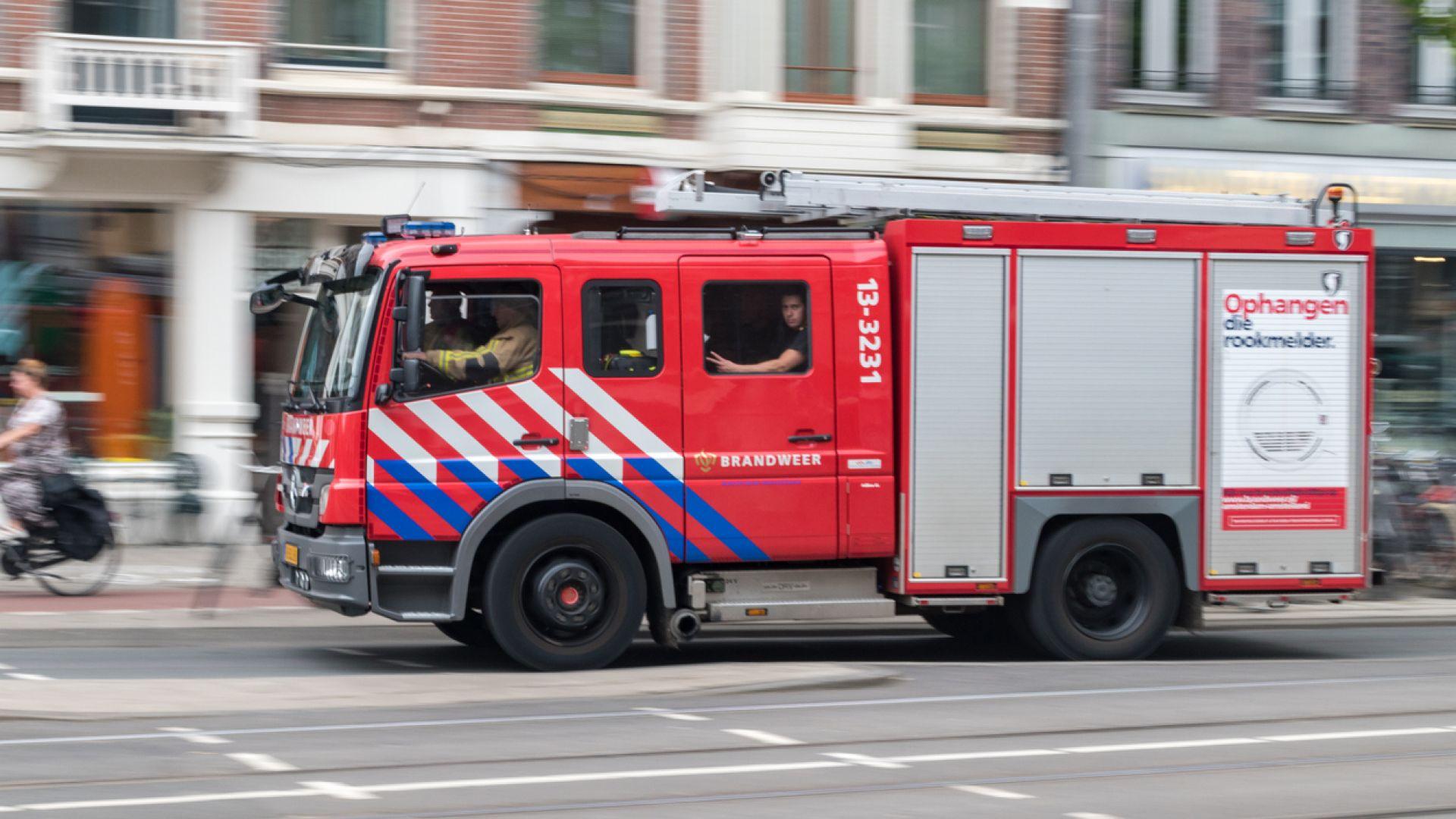 Пожар в сграда с българи в Хага, част от домовете са изгорели напълно