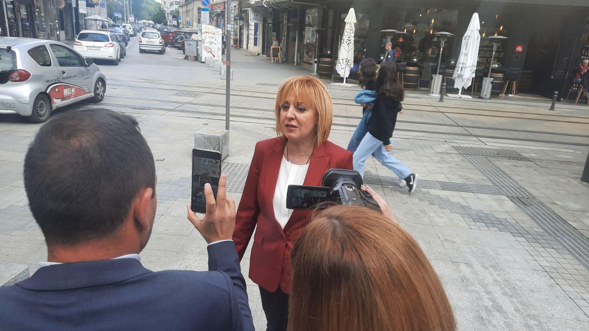 Манолова: Знаел ли е Борисов за подслушването? Да се създаде комисия под егидата на президента (видео)