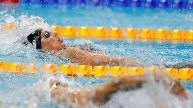 Калоян Левтеров приключи с Олимпиадата с 24-о време на 200 метра гръб