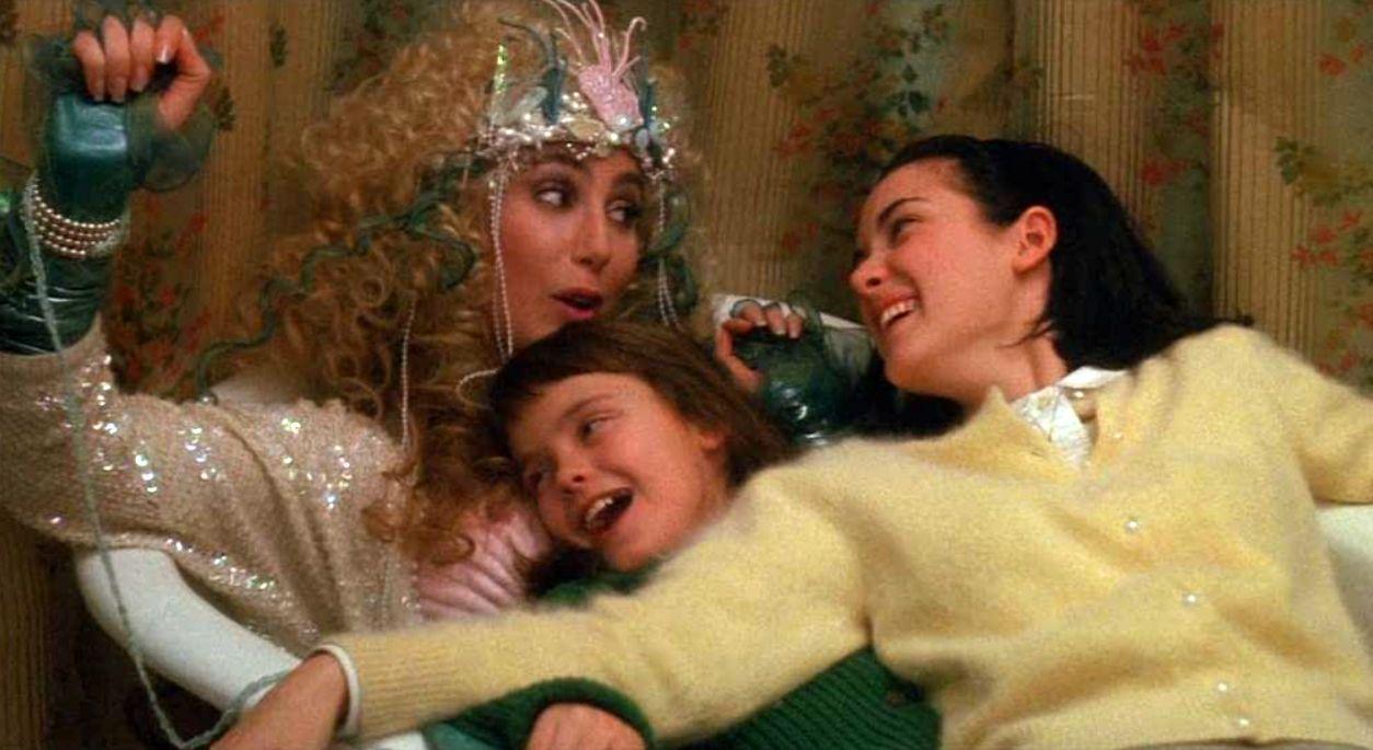 """Шер, Уинона Райдър и Кристина Ричи в """"Русалки"""" (1990) на Ричард Бенджамин"""