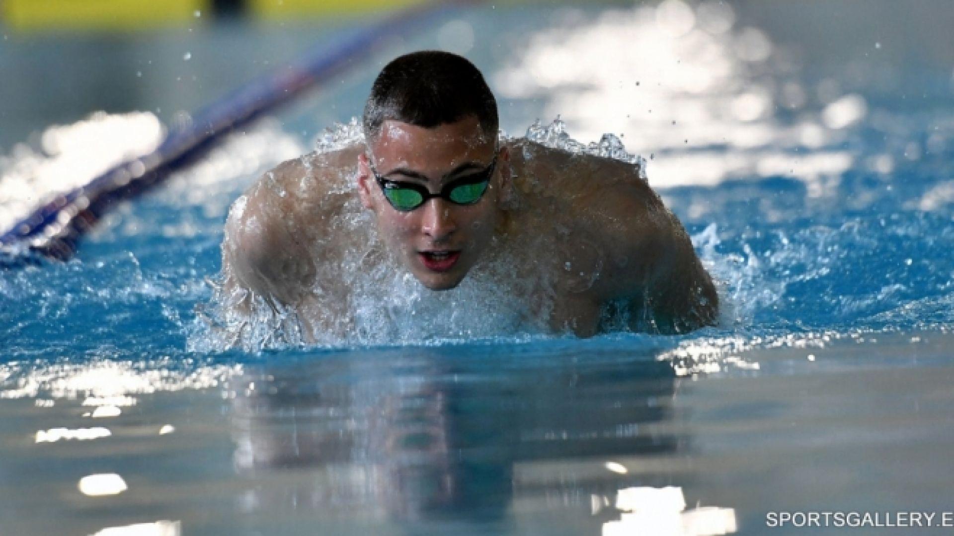 Йосиф Миладинов е на полуфинал в Токио след страхотно плуване