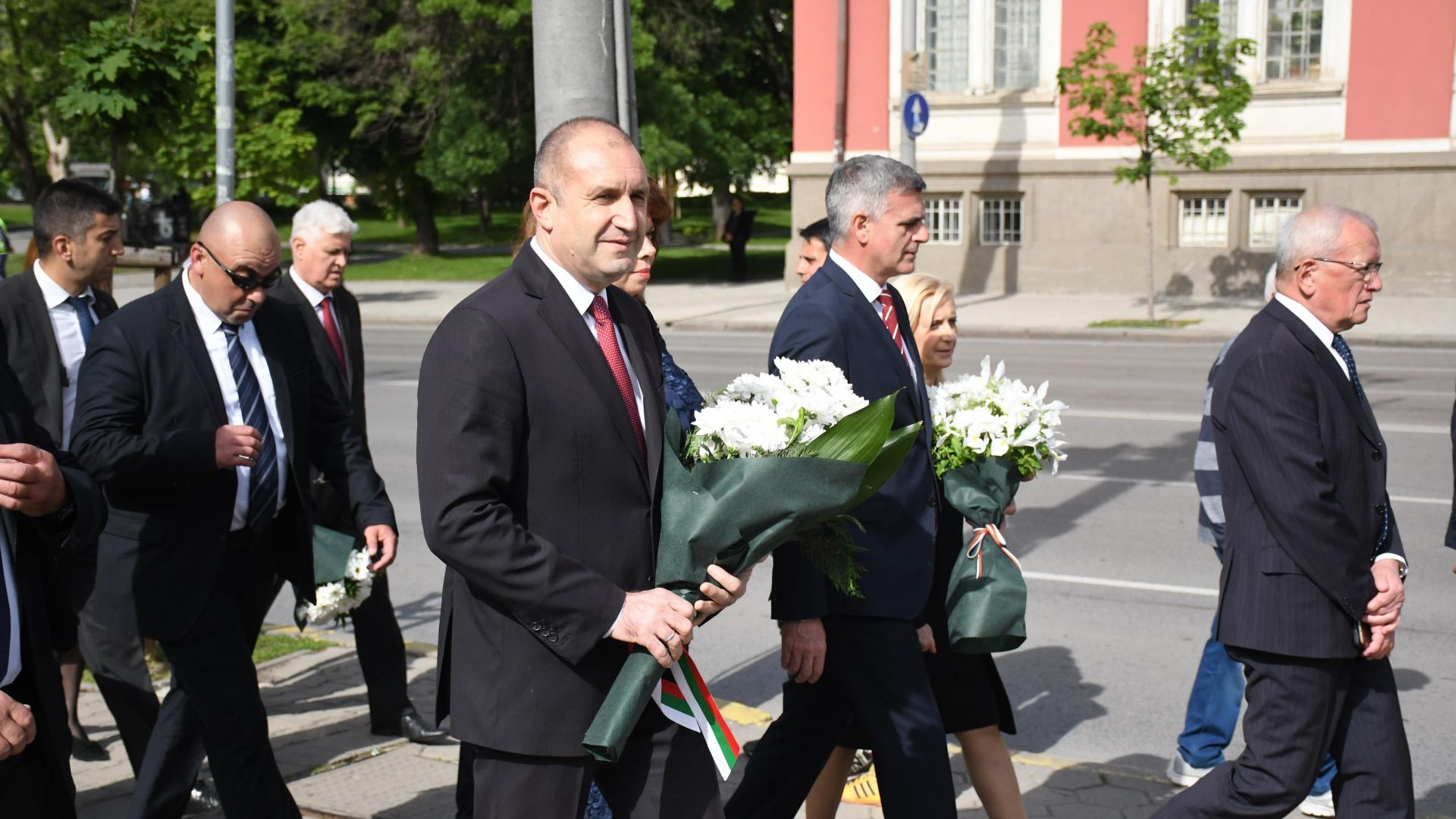 Румен Радев: Държавата на духа никога не е загивала в България