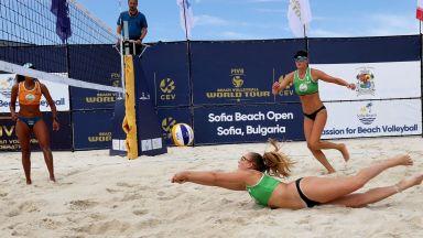 Русия и САЩ са шампиони на плажен волейбол в София