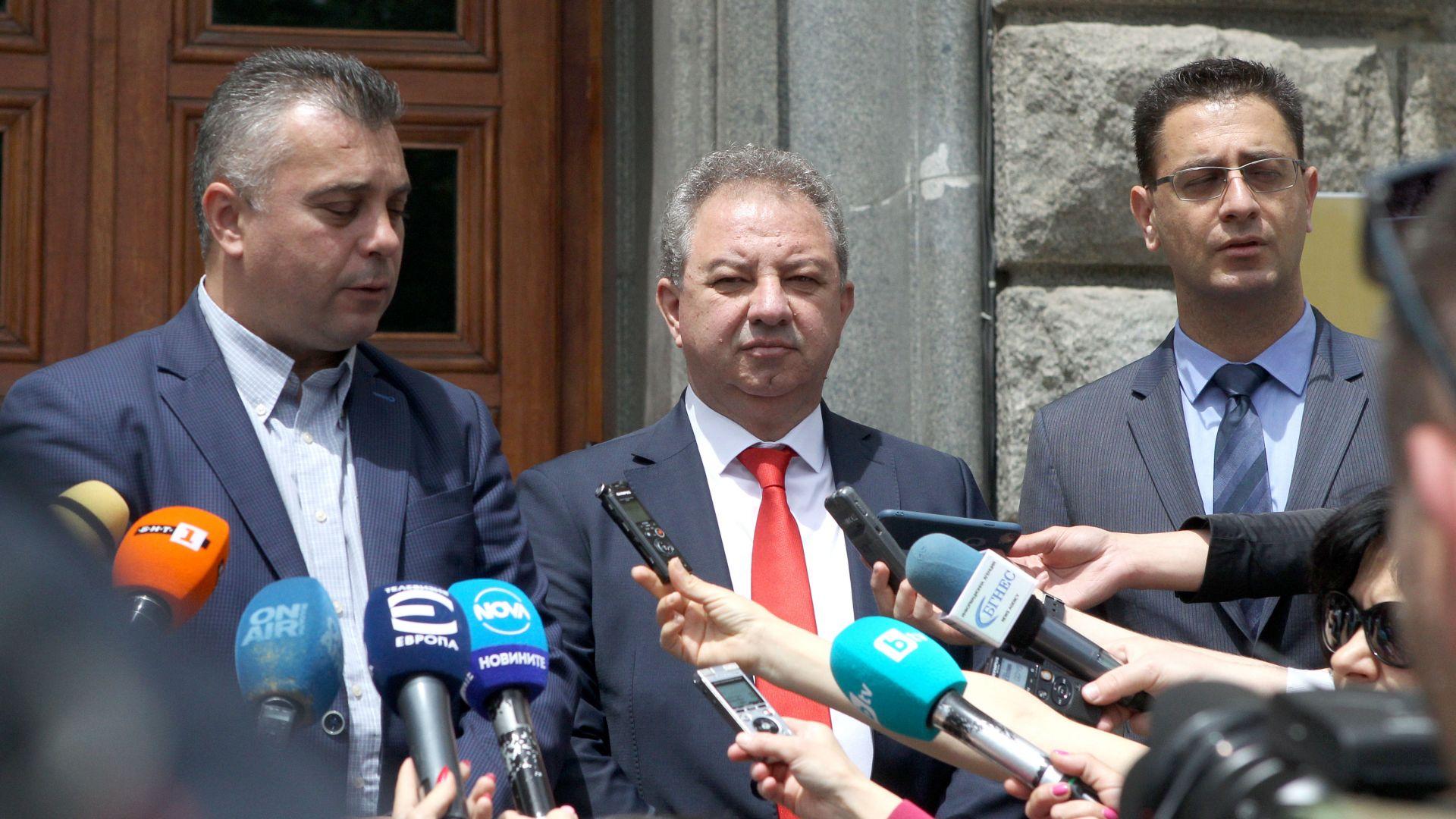 """""""Българските патриоти"""" се регистрираха в ЦИК за вота на 11 юли"""