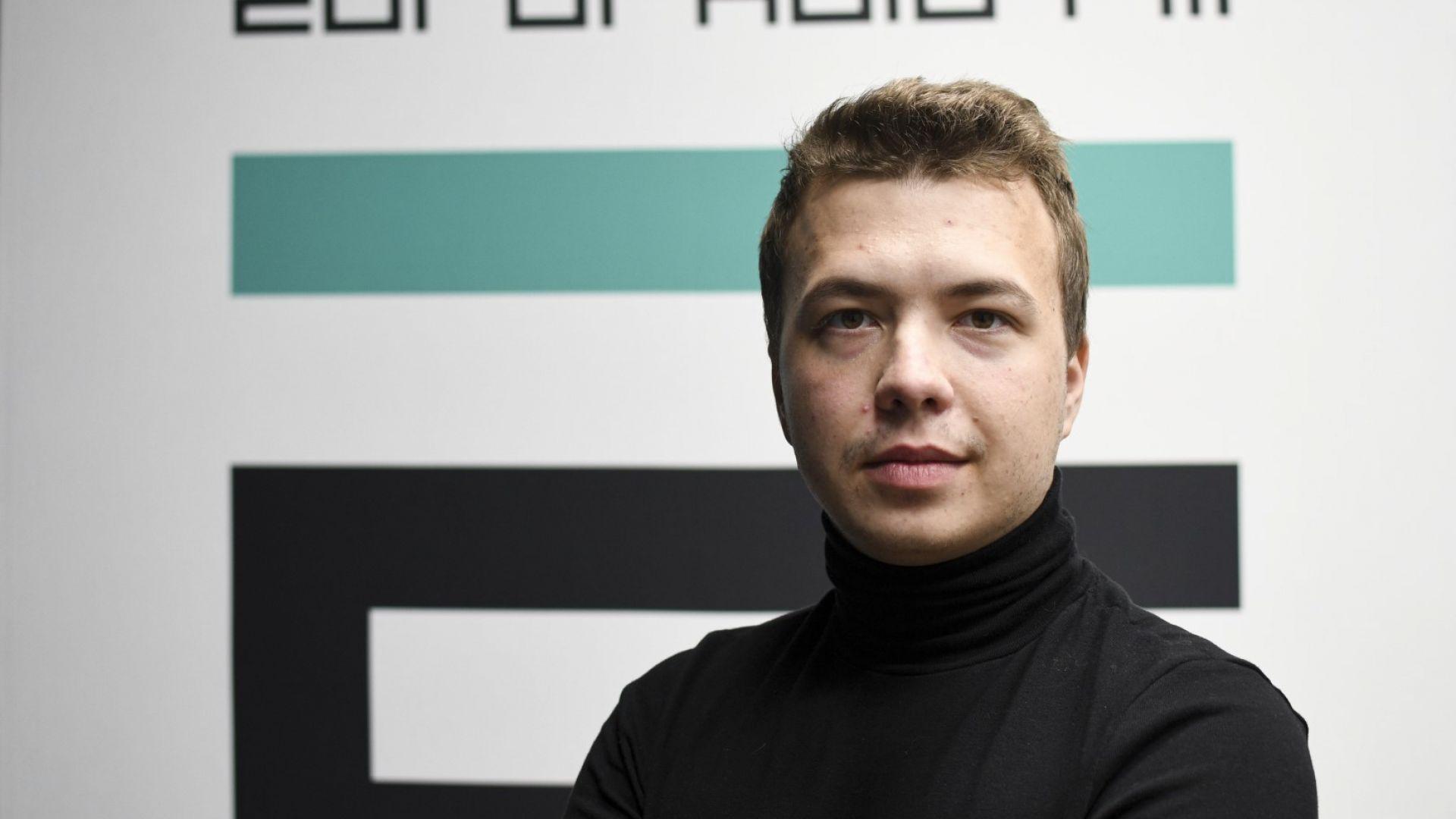 Протасевич се признал за виновен в подбуда на социални вълнения