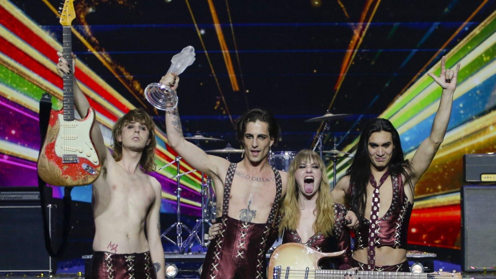 Вокалистът на италианската група победител в Евровизия не е употребил наркотици