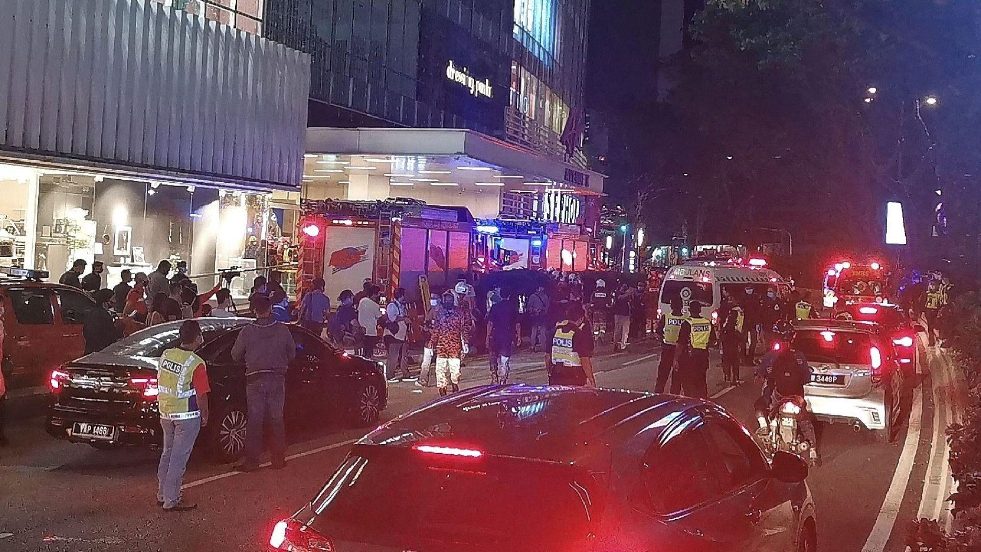 Над 200 души са ранени след тежка катастрофа в метрото в Малайзия