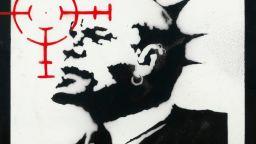 """Продадоха """"Ленин в очите"""" на Банкси за 960 000 долара"""