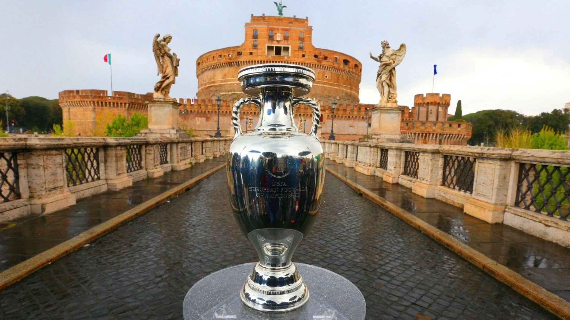 Футбол из целия континент: Ето ги арените на Европейското (Снимки и видео)