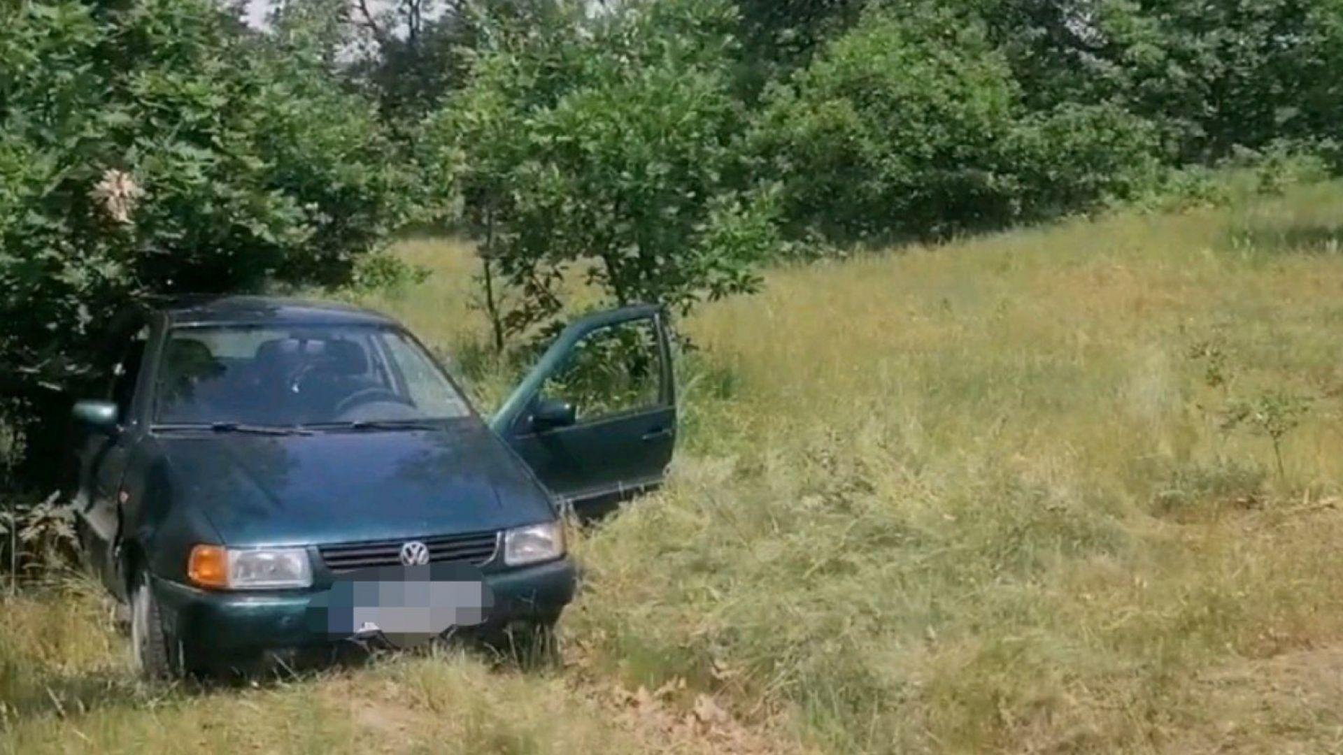 Заловиха двама 12-годишни, откраднали колата на мъж, докато бере билки