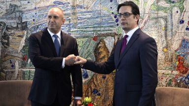 Радев: Имаме прекрасен повод да подновим диалога между България и Република Северна Македония
