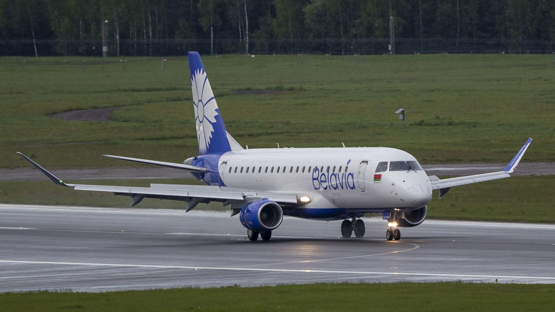 Беларуски самолет се върна в Минск заради невъзможен достъп до френското въздушно пространство