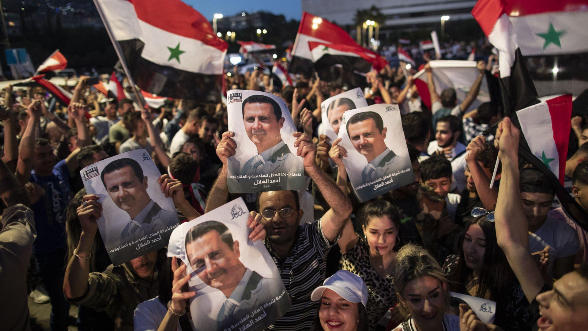 Сирийският президент Башар Асад печели четвърти 7-годишен мандат