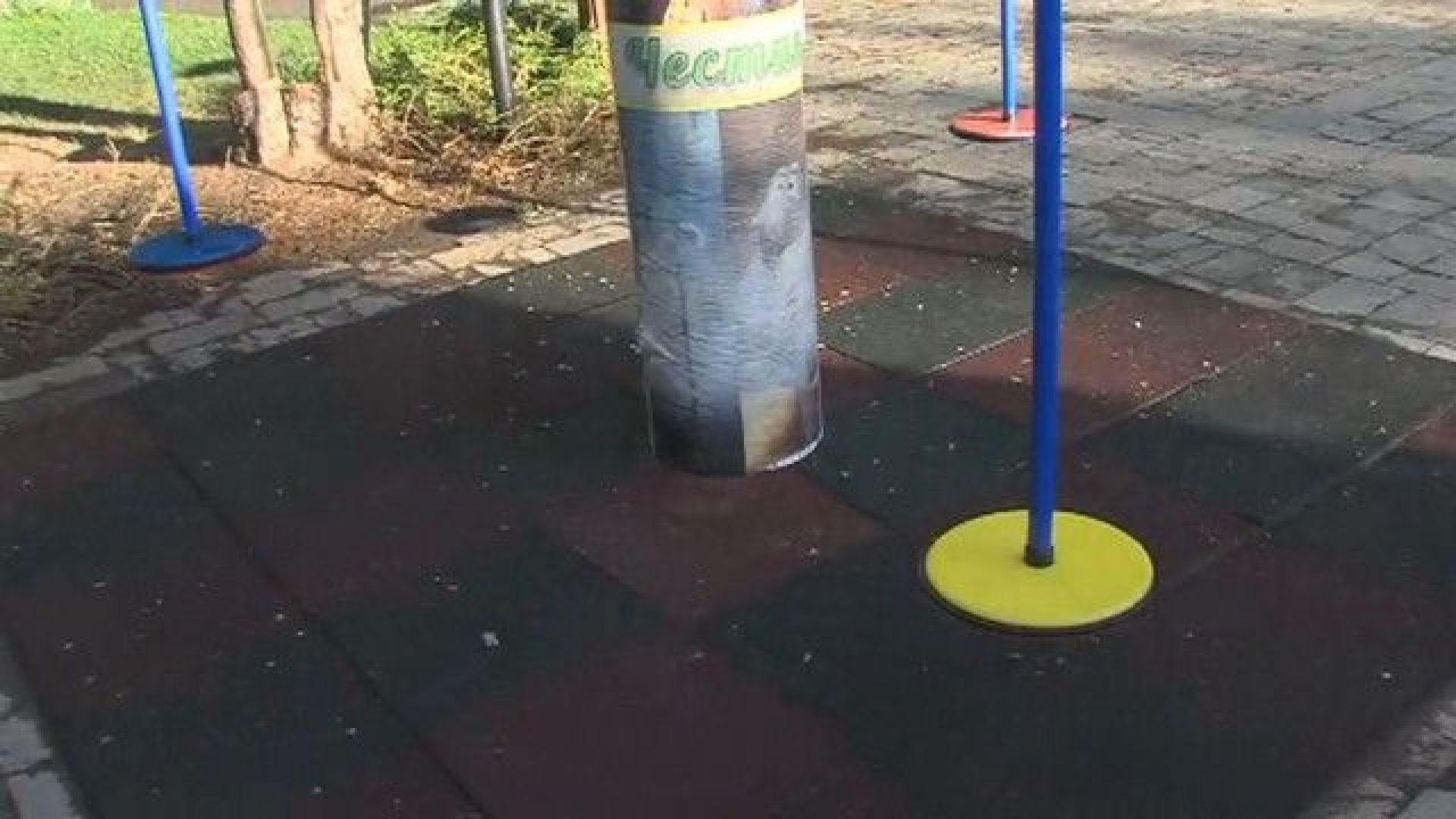 Инцидент с люлка: Въртящото се съоръжение пада, докато на него има деца
