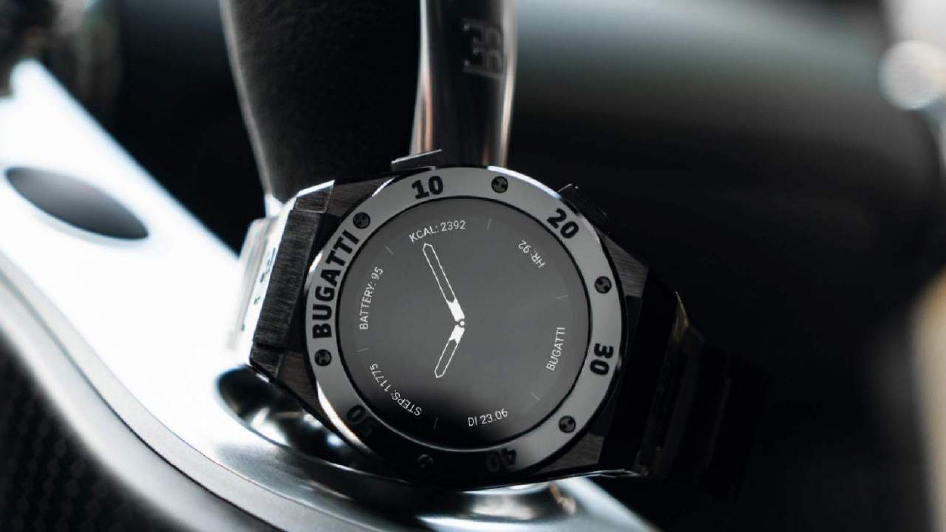 И Bugatti се зае да прави смарт-часовници