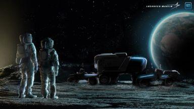 General Motors и Lockheed Martin ще произвеждат новите луноходи на НАСА