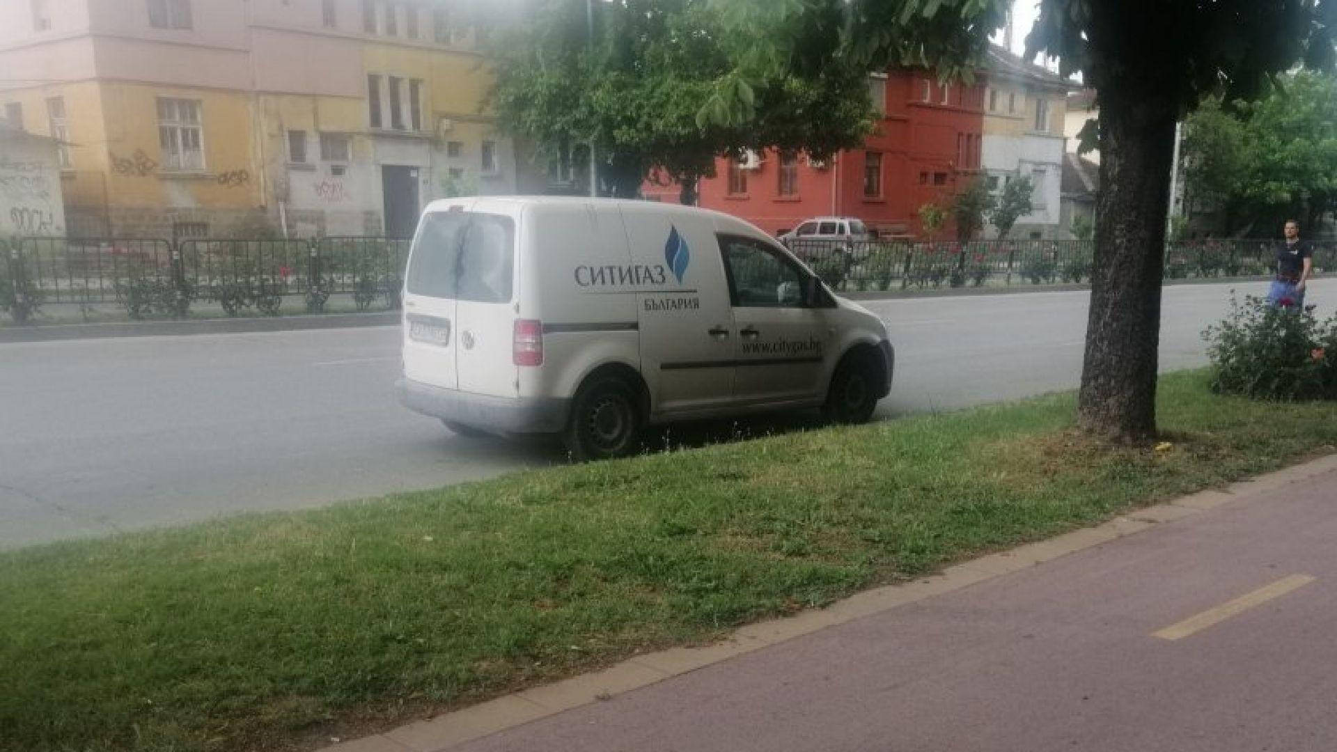 Работници пробиха газопровод в Пловдив