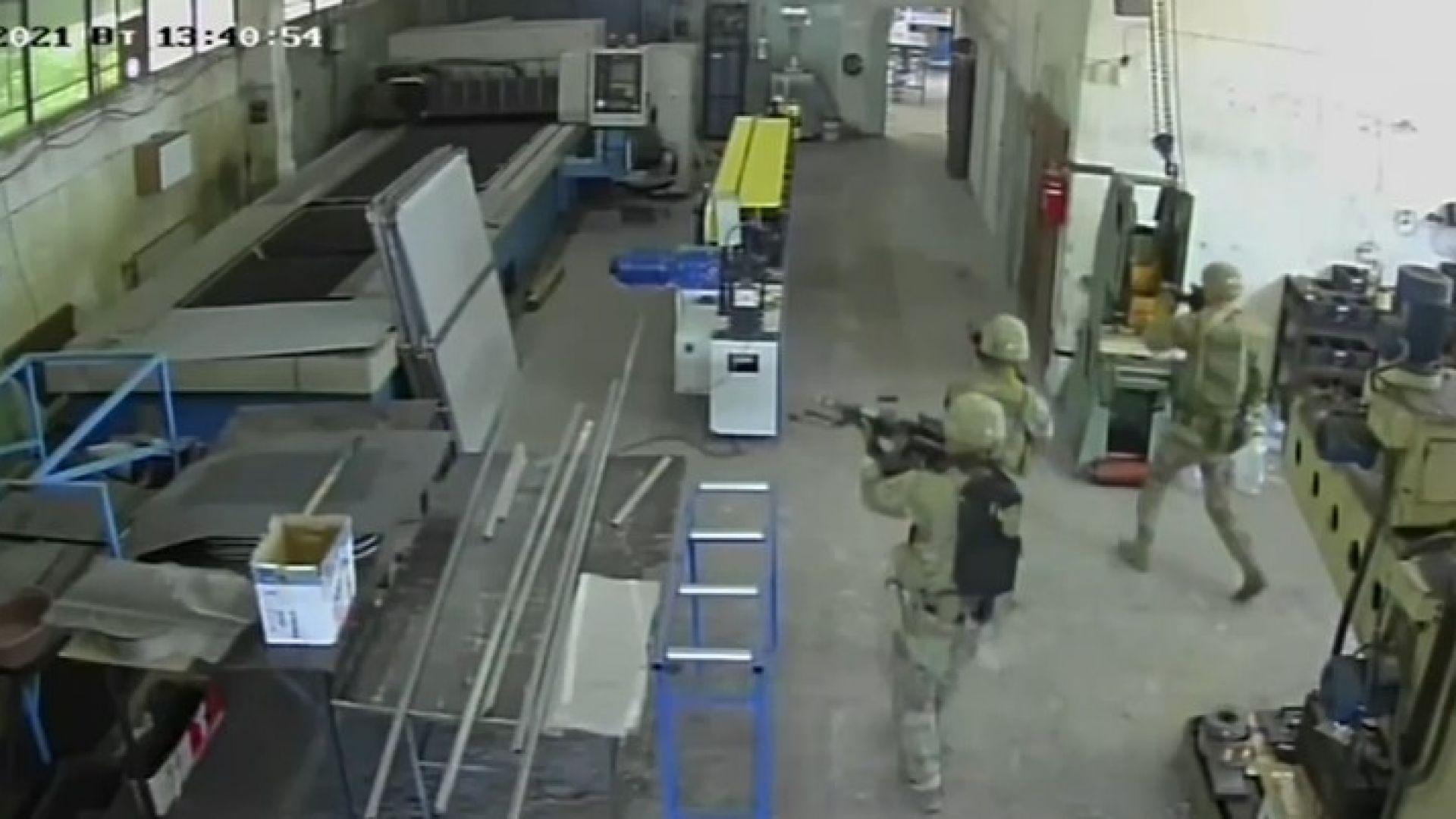 Американски войници атакуваха производствен цех край Пловдив (видео)